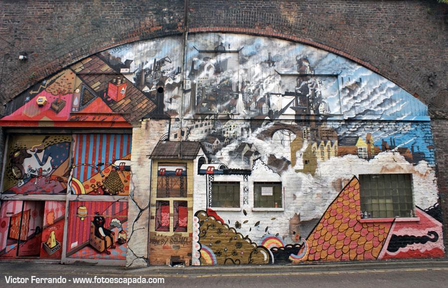 Street Art en Manchester