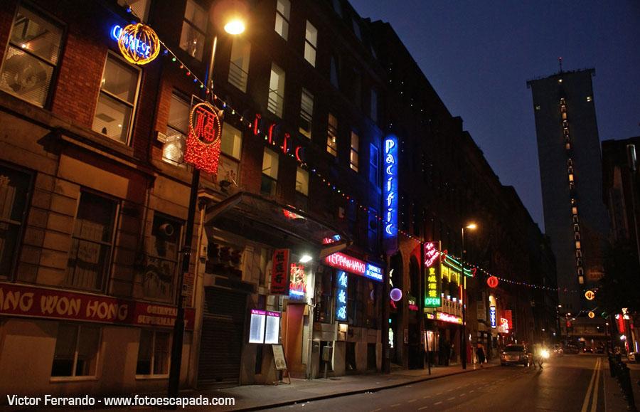 ChinaTown en Manchester