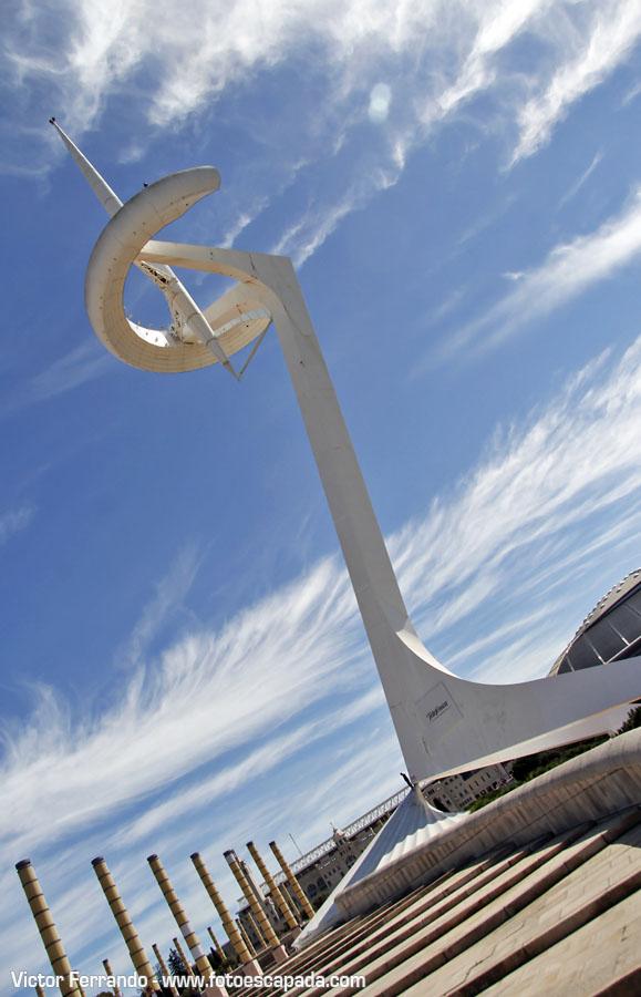 Torre de Telecomunicaciones de Calatrava en Barcelona