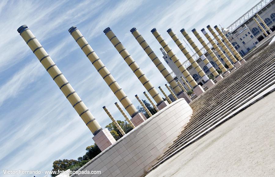 Plaza de Europa de Barcelona