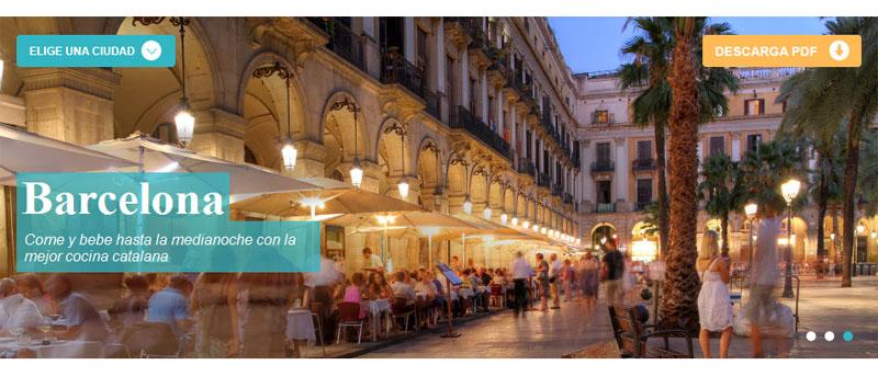 Guía Gastronómica Barcelona
