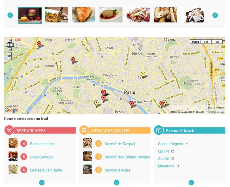 Guías Gastronómicas París