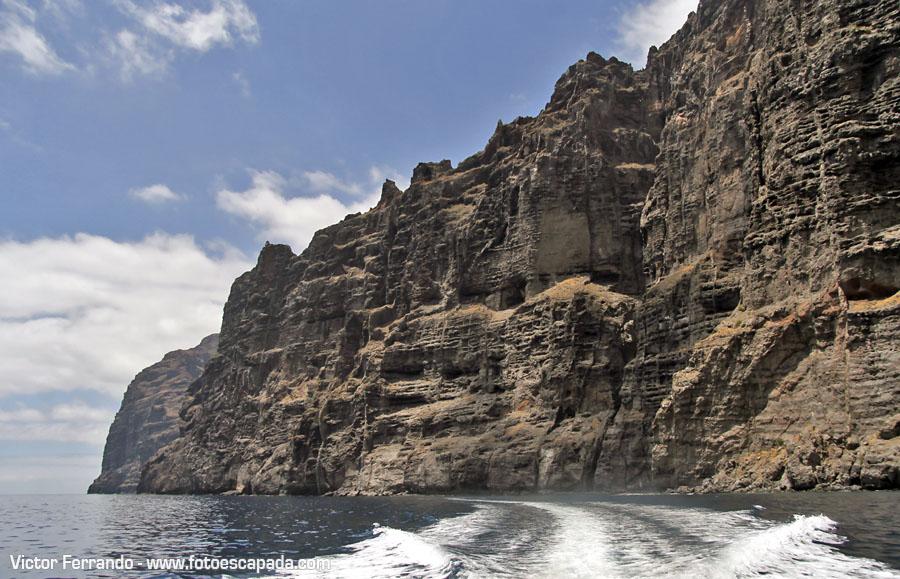Playas y tradiciones de Tenerife - Acantilados de los Gigantes