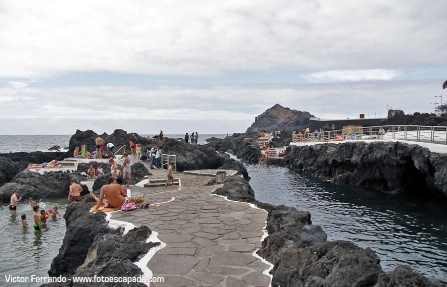 Playas y tradiciones de tenerife - Piscinas Naturales en Garachico