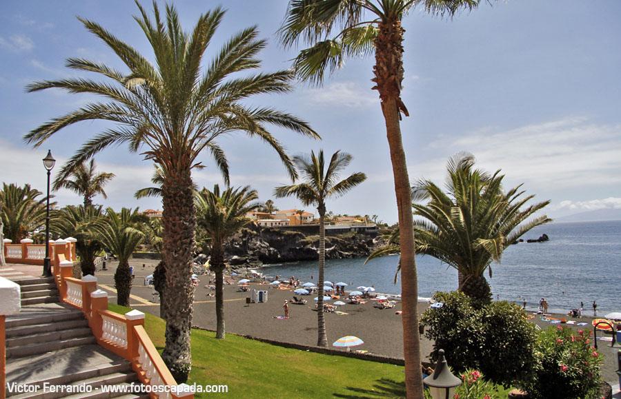 Playas y tradiciones de tenerife - Playa de arena negra