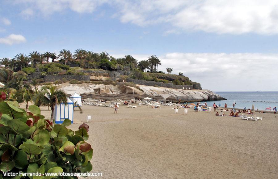 Playas y tradiciones de tenerife - Playa del Duque en Adeje