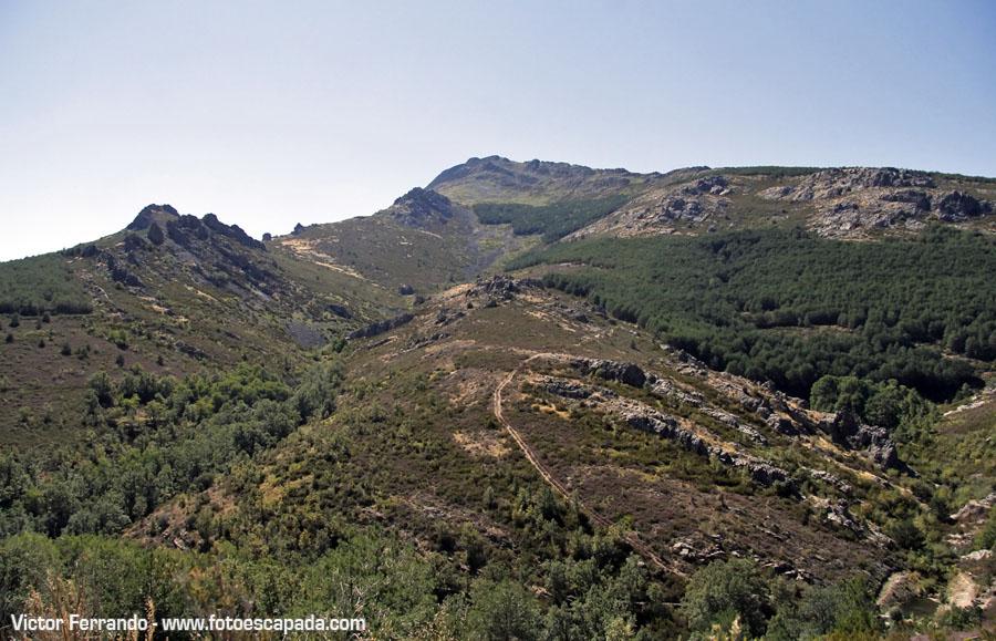 Ruta a la Chorrera de Despeñalagua desde Valverde de los Arroyos