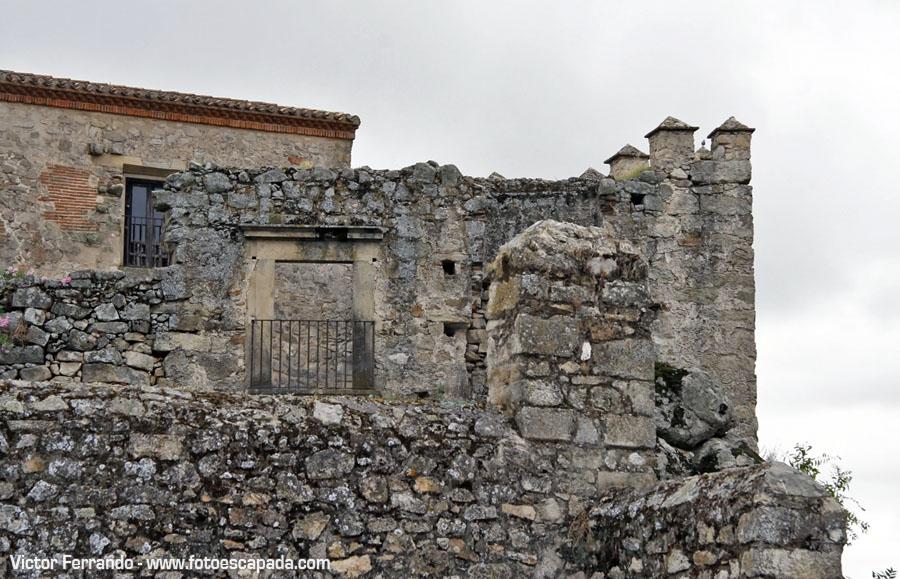 Antiguas fachadas de piedra
