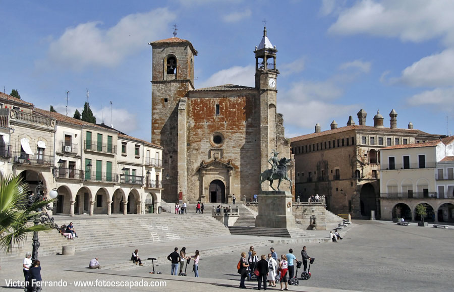Plaza Mayor de Trujillo Caceres