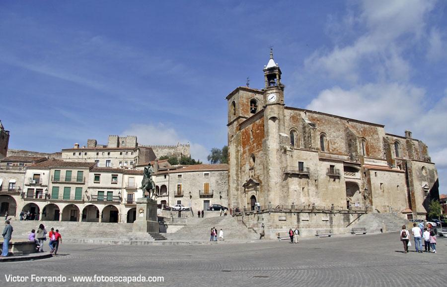 Plaza Mayor de Trujillo Caceres