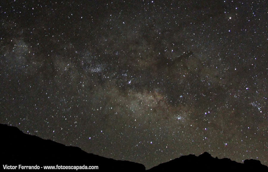 Avistamiento de Estrellas en Las Cañadas del Teide