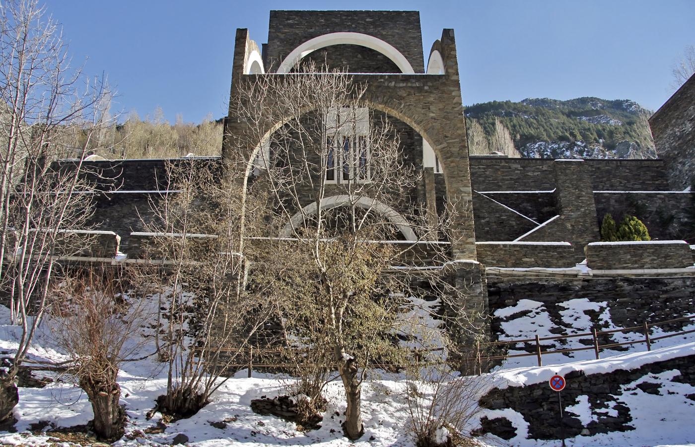 Santuario de Meritxell en Andorra