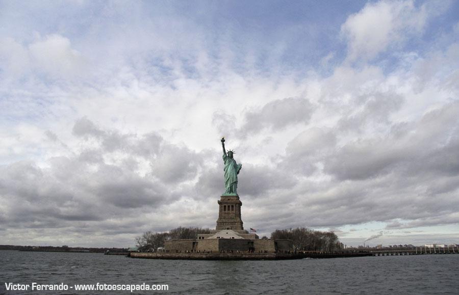 Estatua Libertad New York
