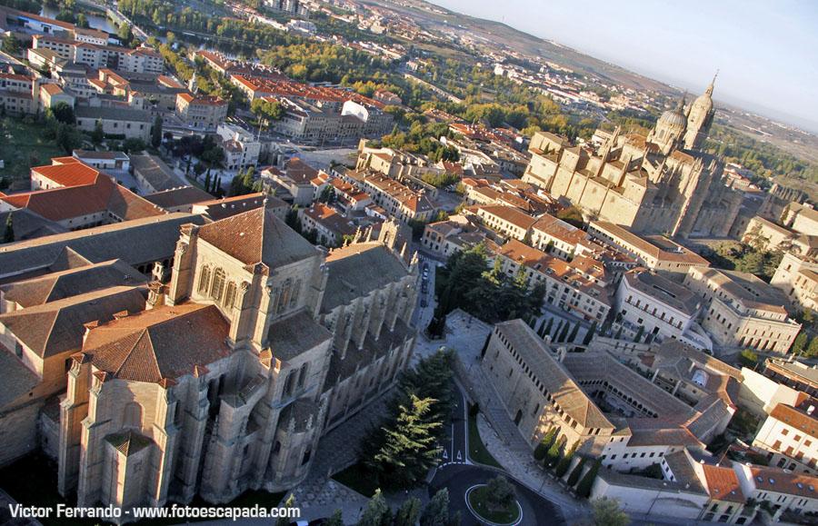 Volar en globo sobre Salamanca 17