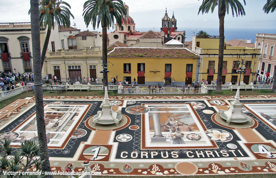 Corpus Christi y Alfombras de la Orotava