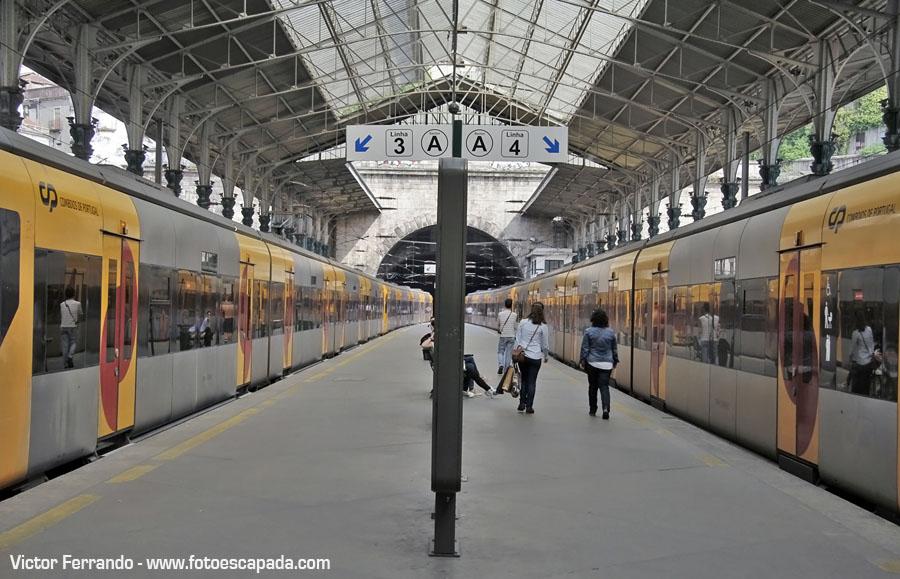 Que hacer en Oporto - Estación Sao Bento