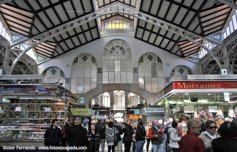 Motivos para visitar Valencia: Comprar en el Mercado Central de Valencia