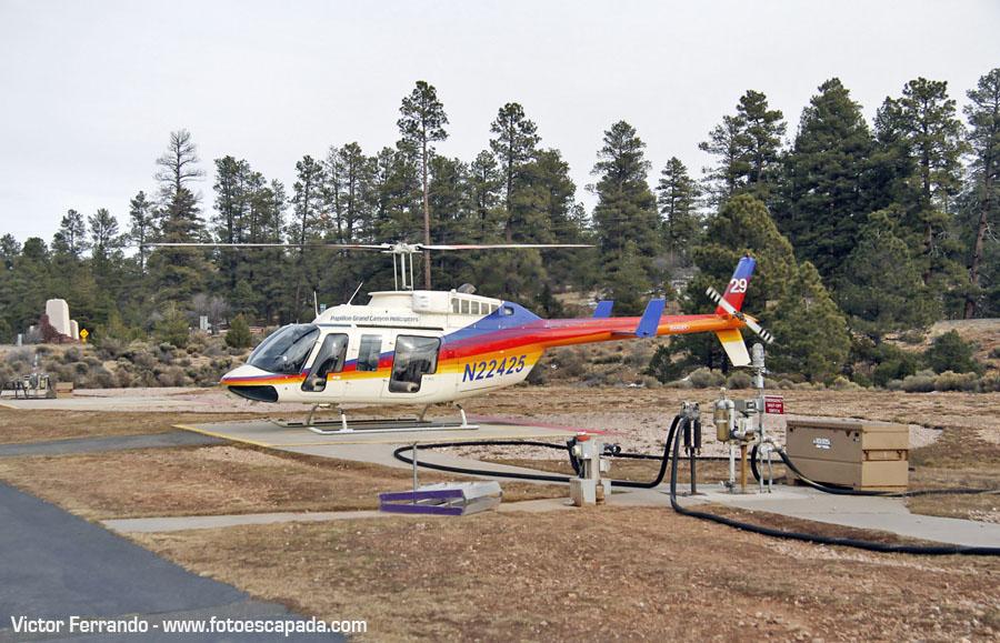 Experiencia Gran Cañon del Colorado en Helicóptero