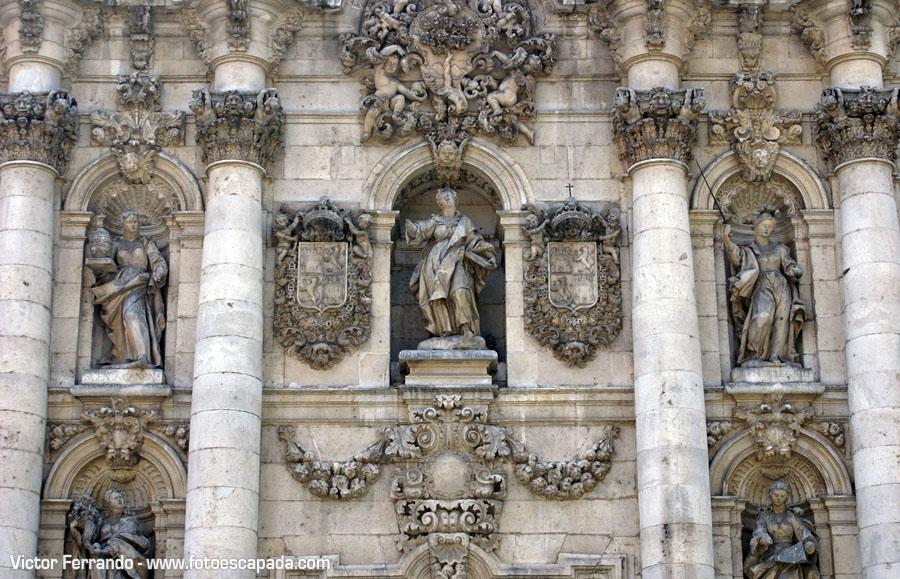 Fachada de la Universidad de Valladolid