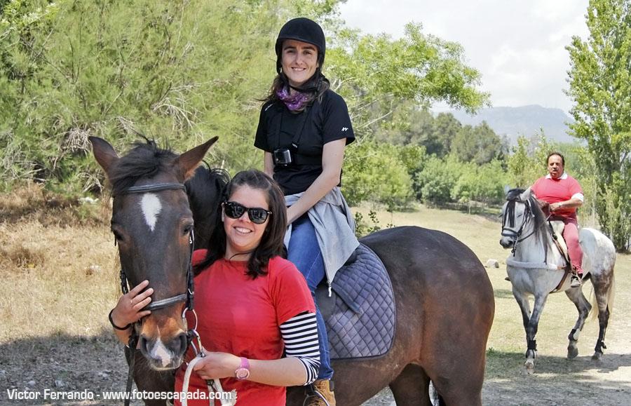 Rutas a caballo en el Pantano de Riudecanyes