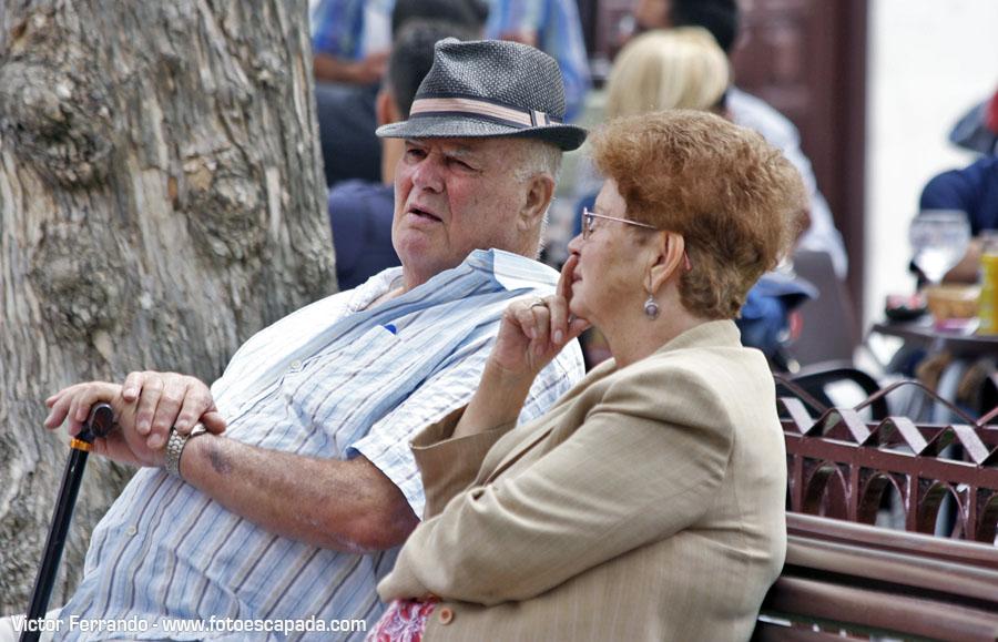 Gente en La Orotava