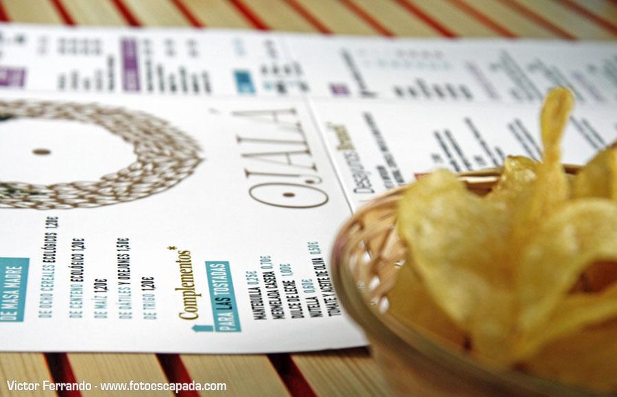 Restaurante Ojalá 1 - Carta y Aperitivo