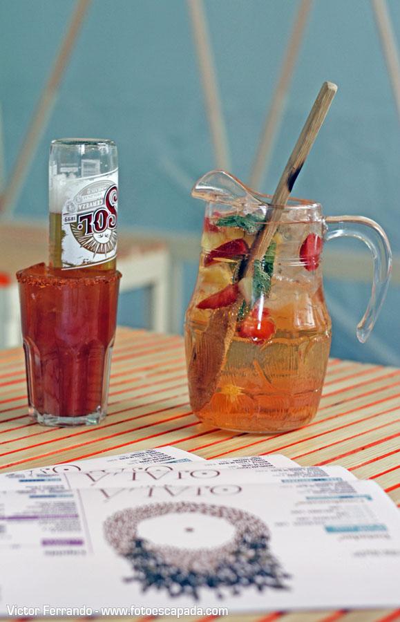 Restaurante Ojalá 2 - Sangría y Michelada