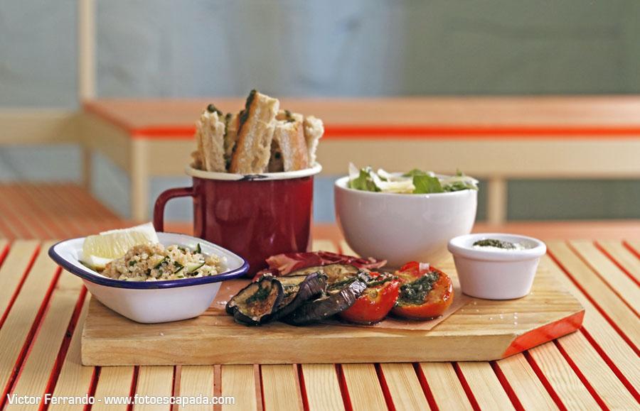 Restaurante Ojalá Madrid 11 - Antipasto