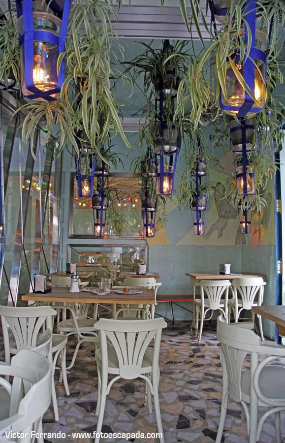 Restaurante Ojalá Madrid 22 - El Invernadero