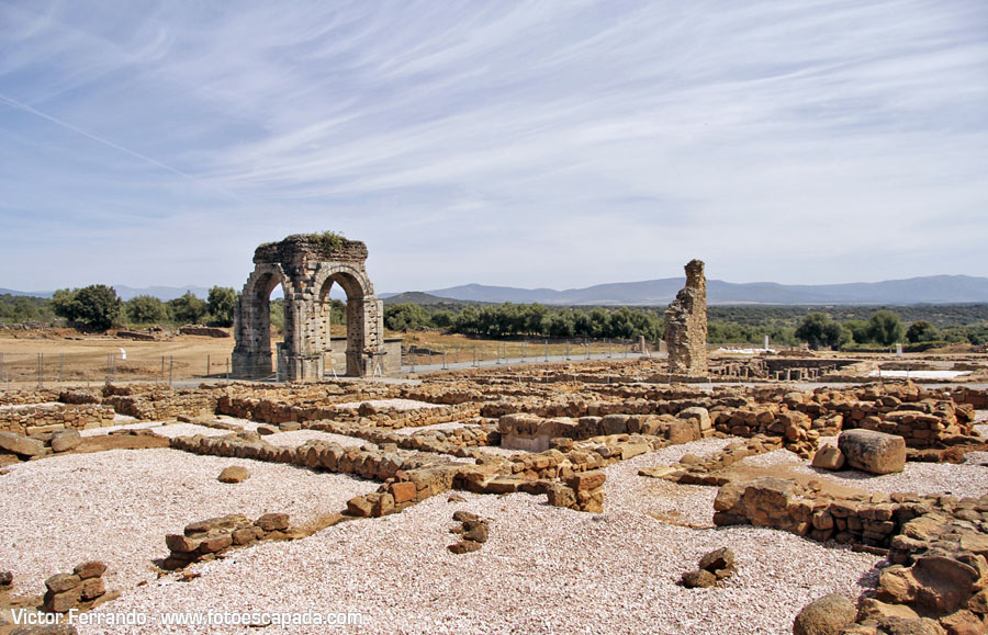 Antigua ciudad romana de Caparra
