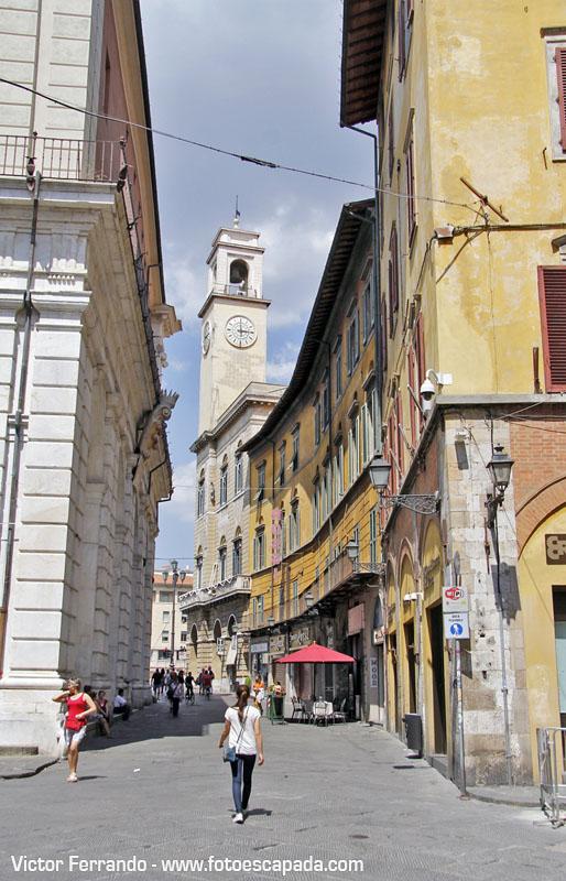 Calles peatonales de Pisa 3