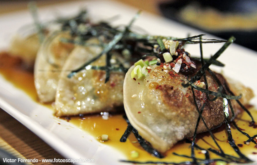 Gyoza Restaurante Maru Coreano Madrid
