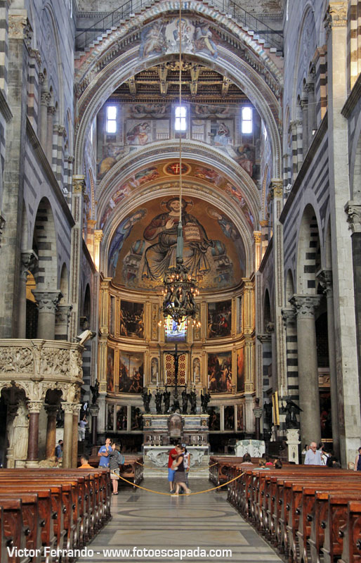 Interior de la Catedral de Pisa 1