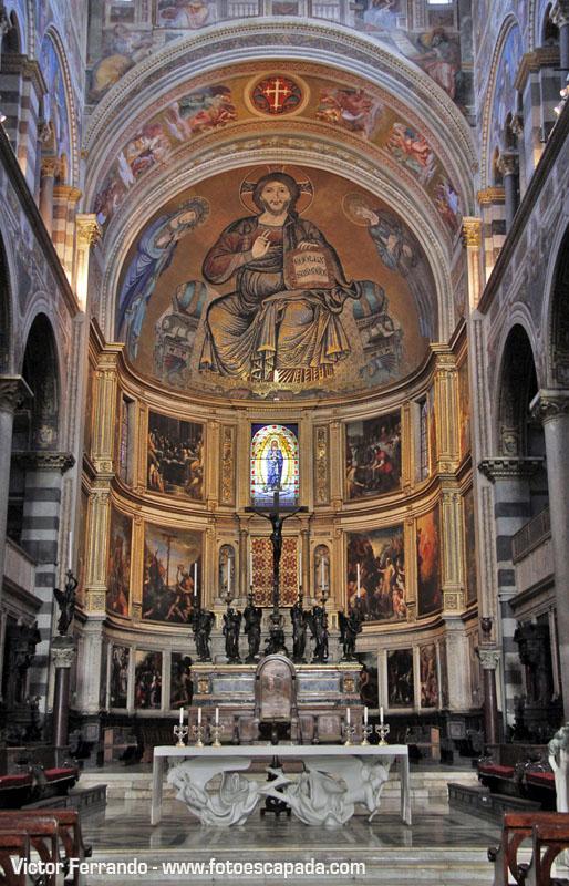 Interior de la Catedral de Pisa 8