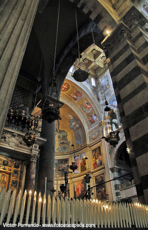 Interior de la Catedral de Pisa 9