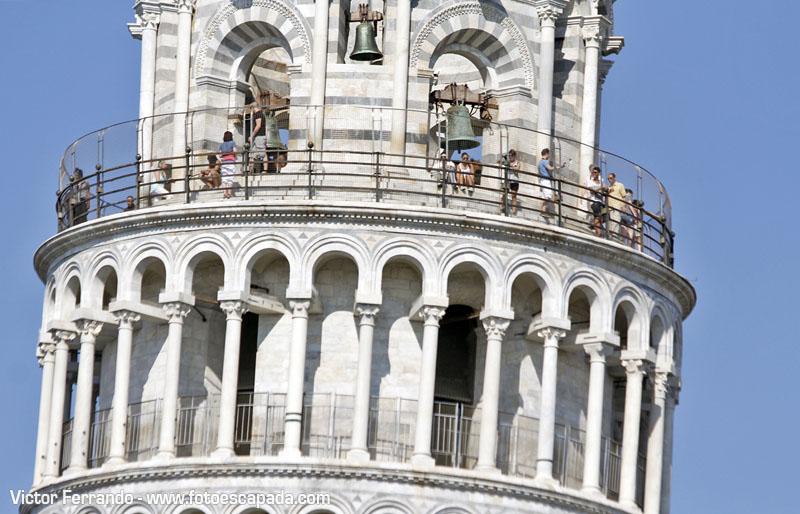 Terraza mirador de la Torre de Pisa