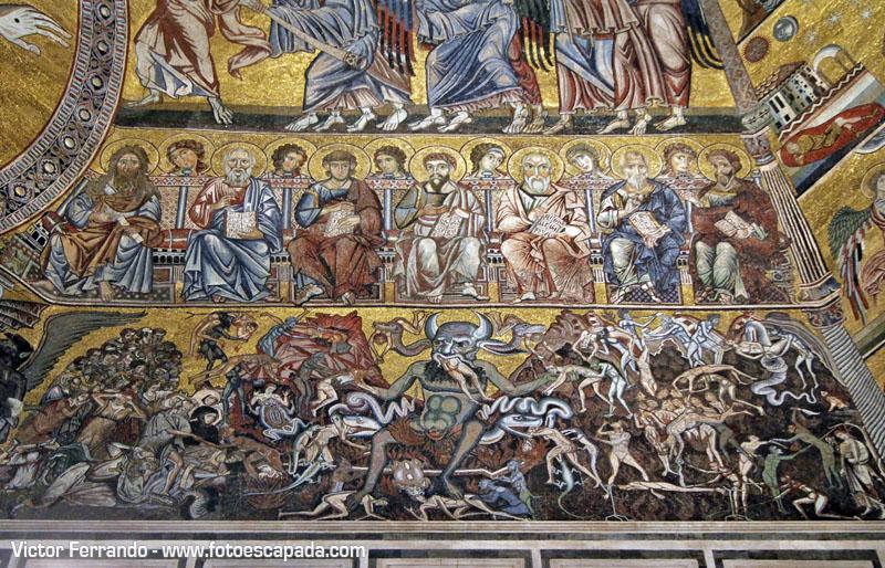El Juicio Final en el Baptisterio de Florencia
