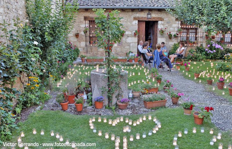 Noche de las velas Pedraza