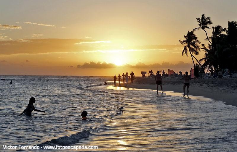 Puesta de Sol en el Caribe