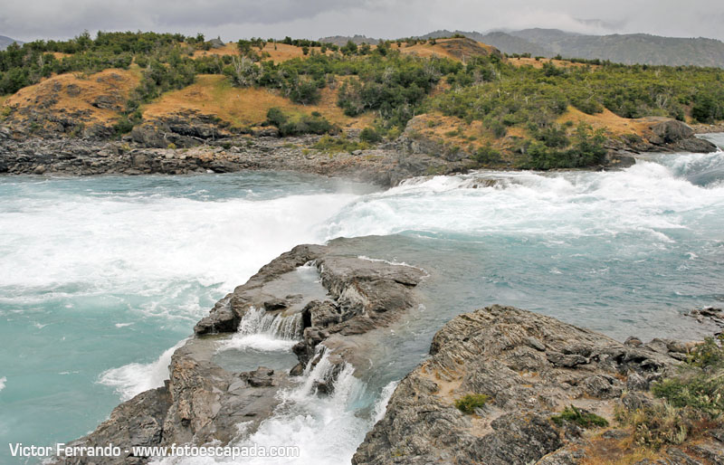 Confluencia ríos Baker y Neff