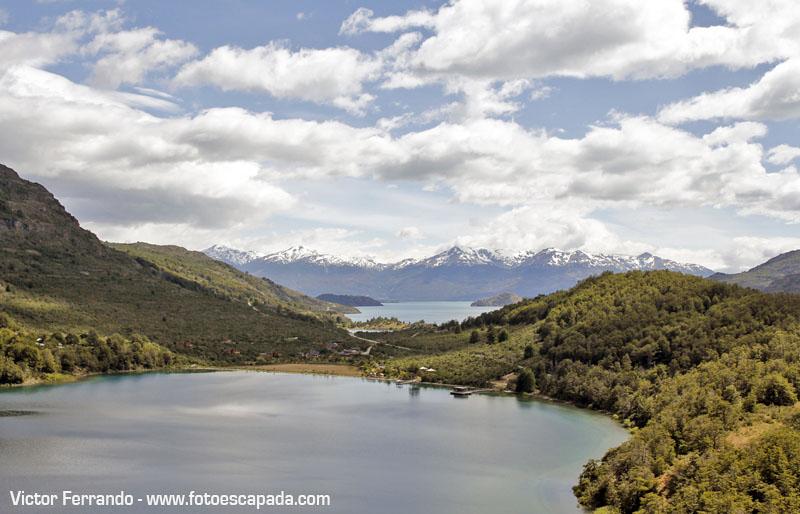 Paisajes y lagos patagonia