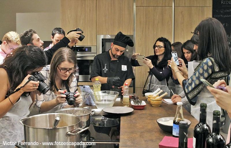 Bloggers Showcooking La Palma Con Sabor