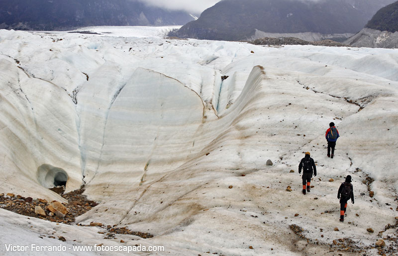 Ice Trekking en Glaciar Exploradores