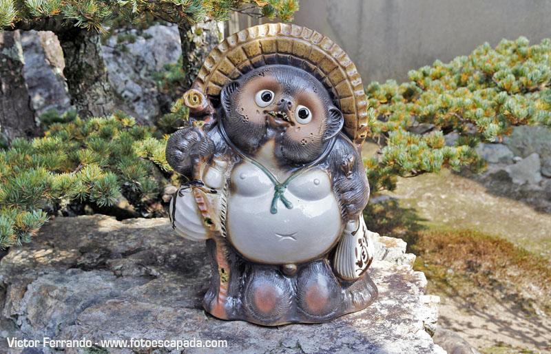 Curiosas estatuas en Arashiyama