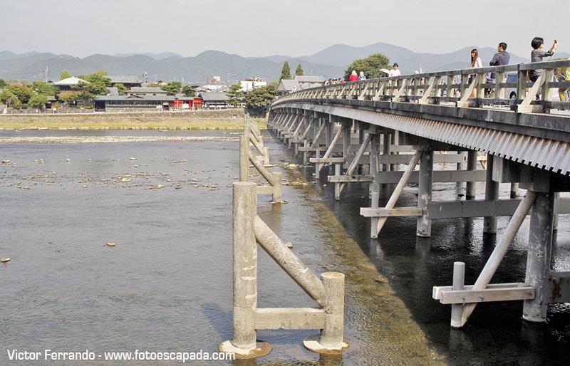 El Puente de Togetsuky en Arashiyama