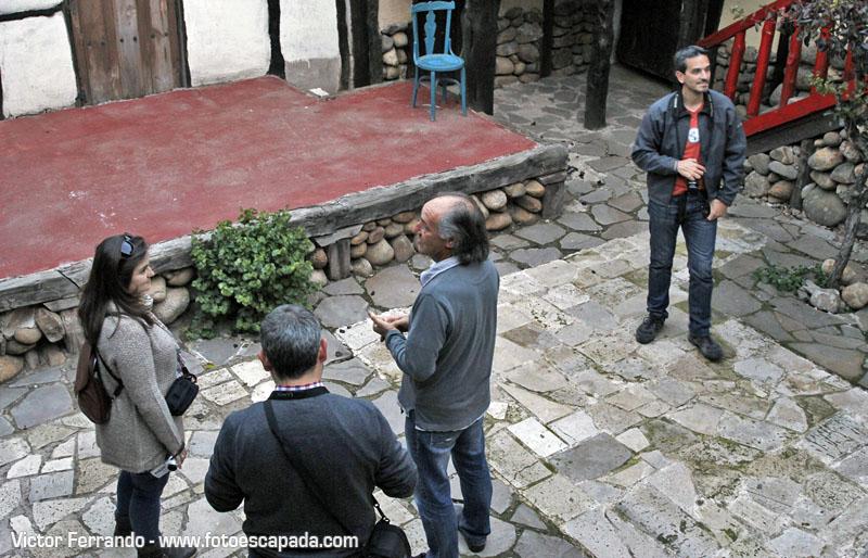 Félix Yáñez nos habla sobre las obras de teatro que representadas en el corral de comedias de Territorio Artlanza