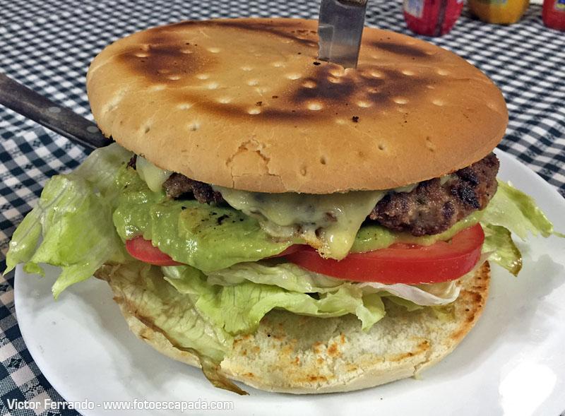Sandwich Picada de Carlitos Puerto Natales