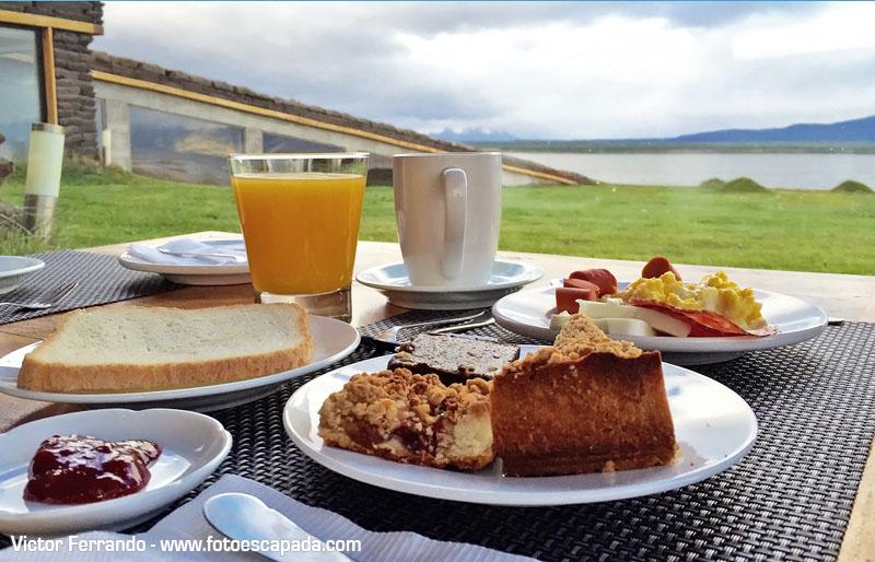Desayuno Hotel Altiplanico Natales