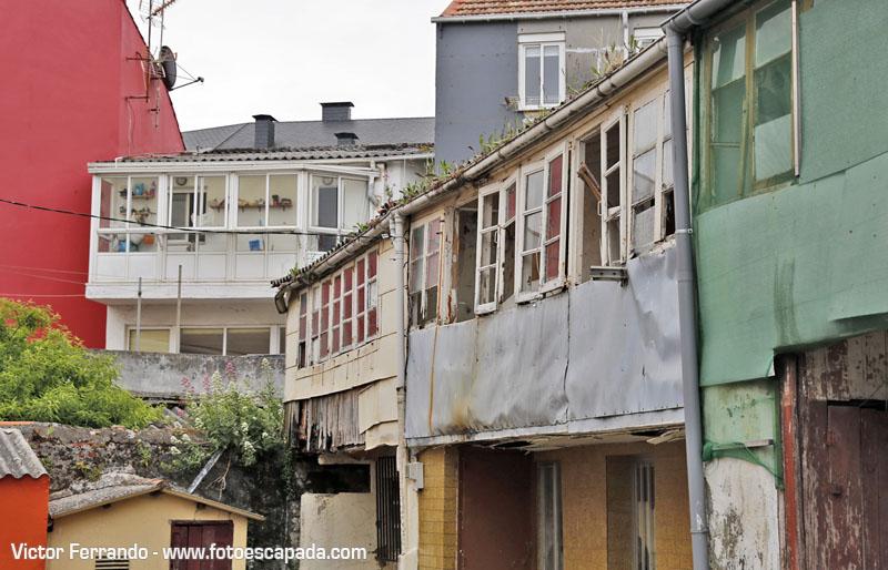 Casas antiguas del Barrio de Canido