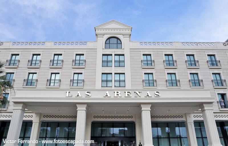 Fachada Hotel Las Arenas Valencia